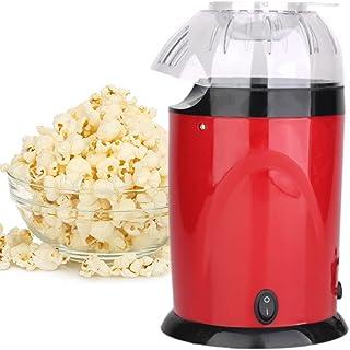 Machine à Popcorn, 900W Retro Popcorn Maker avec Air Chaud Tasse à Mesurer, sans Gras Huile & BPA pour Maison Fête Soirée