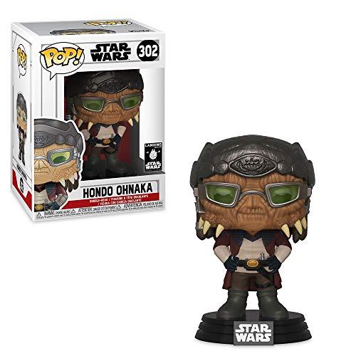 Funko Pop! Figura de vinilo exclusiva de Hondo Ohnaka de Star Wars Galaxys Edge: #302