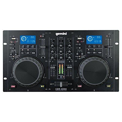 Gemini CDM4000 Dual CD/MP3/USB Mixer Combo Player - New