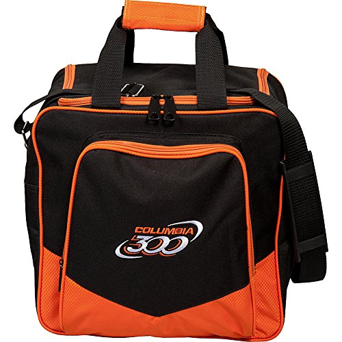 Columbia 300 weiß Dot Single Bowling Bag, C108-52, Orange, Einheitsgröße