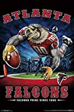 Atlanta Falcons - End Zone Poster Drucken (55,88 x 86,36