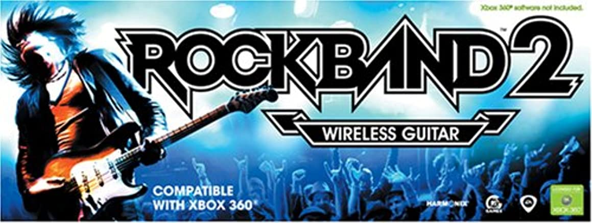 Xbox 360 Rock Band 2 Standalone Guitar