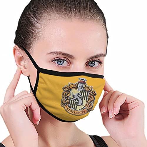 Nicegift Harry Potter Simbolo Reliquias Da Mortefunny Vintage Suave Cómodo a prueba de polvo Cara Unisex Polvo Cara 6.8x10.8 pulgadas