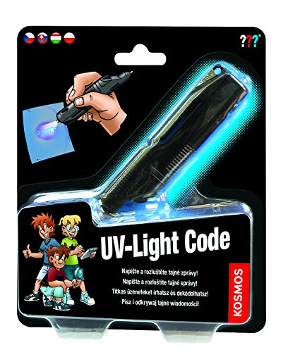 KOSMOS 616144 Die drei UV-Lichtcode mehrsprachige Version (HU, CZ, SK, PL, nicht DE) Spielzeug,...