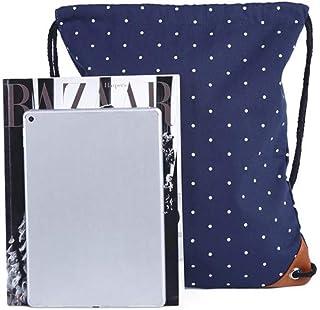 حقيبة ظهر نسائية للسفر للمدرسة من المراهقات حقائب قماشية برباط تخزين حقيبة برباط حقيبة تخزين