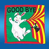 Foulard Lapin Goodbye (90 x 90 cm)
