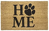 "Entryways Pet Home Non- Slip Coconut Fiber Doormat 17"" X 28"" X .5 """