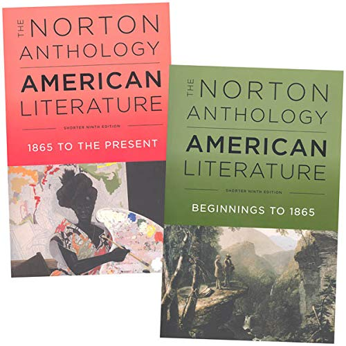 Compare Textbook Prices for The Norton Anthology of American Literature, 9e Shorter 2-Volume Set with access card for each volume 9 Edition ISBN 9780393666335 by Levine, Robert S.,Elliott, Michael A.,Gustafson, Sandra M.,Hungerford, Amy,Loeffelholz, Mary