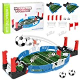 Mini Tabletop Soccer Game Panzisun Football Table Toy Children Interactive Board Playset Bttle Miniature Top Shooting Fun Activity Novelty Reduce Stress for Kids Adults Sports Fans Room Birthday Party