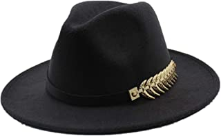 2019 Mens Womens Hats Womens Fashion Unisex Wool Polyester Fedora Hat for Women Wide Brim Fedora Hat Travel Autumn Church Party Hat Cloche Travel Casual Fascinator Hat