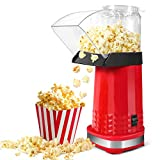 Popcorn Maker, 1200W Popcorn Machine, Fast Popcorn Popper with Top Lid for Home, Family and Party, BPA-Free,...