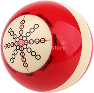 Tongina Training Practice Billiard Cue Ball for Beginners or Professional - 2 inches - Durable & Long Lasting