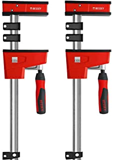 "BESSEY KRE3531 PAIR 31"" K Body REVO Parallel Bar Clamp Now With Hex Key Clamping"