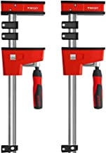 "Bessey - K-BODY REVOlution 12"" Parallel Clamps with Composite Plastic Handle and 3-3/4-In. Throat Depth - 2-Pack"