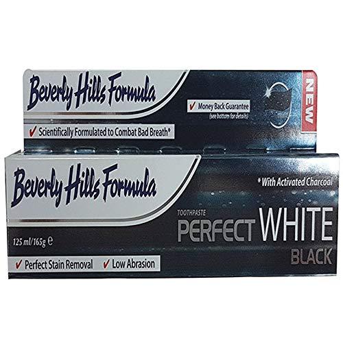 Beverly Hills Formula PERFECT WHITE BLACK 125 ml - Zahncreme - weisse Zähne - Zahn-Aufhellung - Bleaching