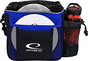 D·D DYNAMIC DISCS Latitude 64 Blue Slim Disc Golf Bag | Introductory Disc Golf Bag | Great for Beginners and Casual Disc Golf Rounds | Lightweight and Durable Frisbee Golf Bag | 8-10 Disc Capacity