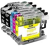Amaprint 5 XL Cartuchos Compatible con Brother LC223 LC223xl para MFC-J480dw MFC-J680dw MFC-J880dw MFC-J4420dw MFC-J4620dw MFC-J5320dw MFC-J5620dw MFC-J5720dw DCP-J4120dw DCP-J562dw