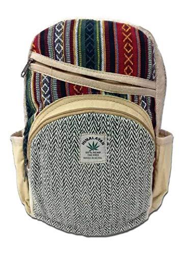 Rucksack aus Hanf, cultbagz Nepal Hand Made, HGB03