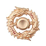 Golden Dragon Fidget Spinner Figiting Hand Finger Toys Spinner Focus Copper Metal Fingertip Gyro...