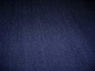 D&D Futon Furniture Brand New Real Denim Jean Twin Size Futon Mattress Cover, Thick and Durable Dark Blue Denim.