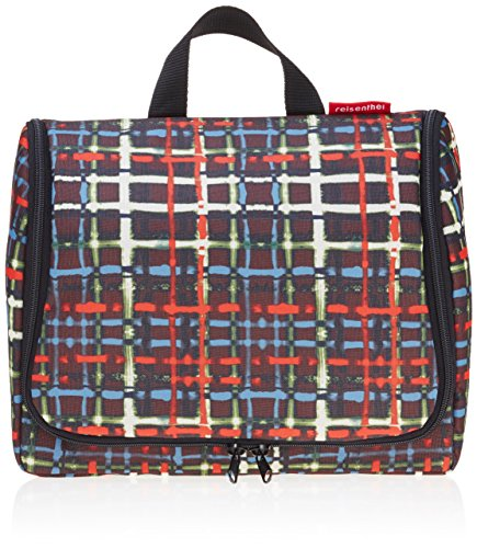 reisenthel toiletbag XL wool Maße: 28 x 25 x 10 cm / Maße: 28 x 59 x 9 cm expanded / Volumen: 4 l