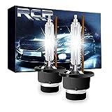 RCP HIDバルブ 車用ヘッドライト D4S/D4R汎用 純正交換 35W Xenon HID 4300K 発光色選択可能 明るさアップ 加工なし 2年保証 2個入り RCP-D4C