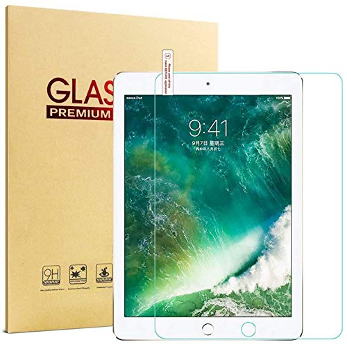 ALXDR (2 Pack) for Ipad Mini 1/2/3 7.9 Inches Tempered Glass Screen Protector with Adhesive Film Locator-Green Light Eye Protection,for ipad mini 2