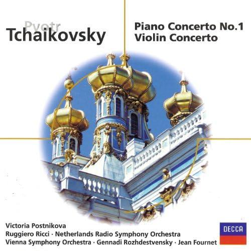 Victoria Postnikova, Wiener Symphoniker, Gennadi Rozhdestvensky, Ruggiero Ricci, Netherlands Radio Philharmonic Orchestra & Jean Fournet