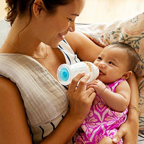 Munchkin Latch Anti-Colic Baby Bottle with Ultra Flexible Breast-like Nipple, BPA Free, 8 Ounce, 3 Pack
