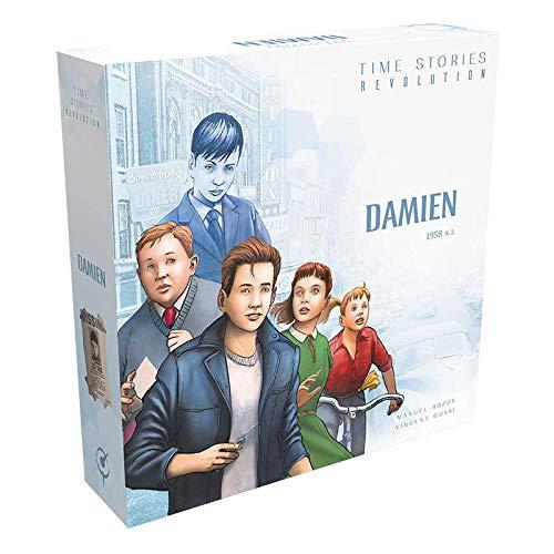 Asmodee DE SCOD0053 T.I.M.E Stories Revolution - Damien, Kennerspiel, Deutsch
