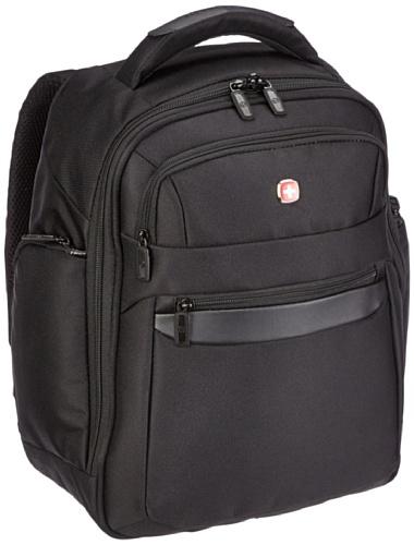 Wenger Rucksack mit Laptopfach 15 Zoll Business Basic, schwarz, 27 liters, W73012215