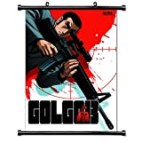 Golgo 13 Anime Fabric Wall Scroll Poster (32 x 46) Inches. [WP]-Golgo-1 (L)