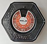 Caja de plomos hexagonales para terminales de pesca – Pesca con flotador – Ref. 301603