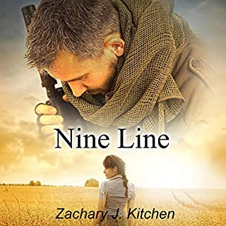 Nine Line audiobook cover art