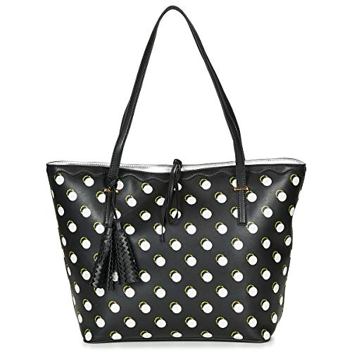 Lollipops Danni Shopper Tote Bag/Borsa Shopping Donne Nero/Bianco - Unica - Tote Bag/Borsa Shopping