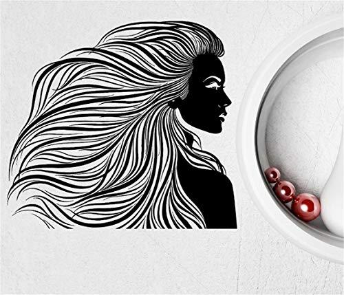 Salon de coiffure Salon de coiffure Cheveux Femme Coiffure Autocollants Chambre moderne