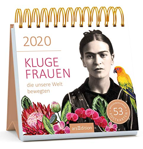 Postkartenkalender Kluge Frauen 2020
