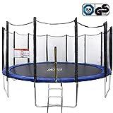 ANCHEER Fitness Trampolin Indoor Garden Jumping Rebounder für Aerobic-Übungen (Größe:91-137 cm,)