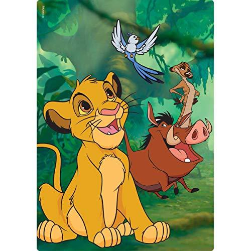 O Rei Leão Quebra-cabeça 200 Peças Toyster Brinquedos