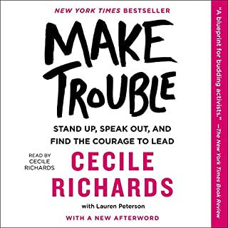 Make Trouble audiobook cover art