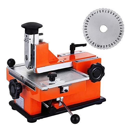S SMAUTOP YL-360 Manuel Machine D'impression D'imprimantes Et Signes En Métal Machine De Marquage, Machine De Marquage Plaque signalétique Estampage Gravure