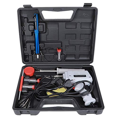 Kit de soldador eléctrico con pistola de soldadura rápida, herramienta de soldadura doméstica industrial para soldadura de placa de circuito