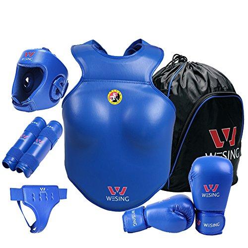 Wesing Profesional Sanda Sanshou MMA Artes Marciales Boxeo Muay Thai Sparring Competencia Juego...