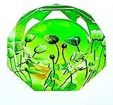 JXLBB Cenicero de cristal europeo creativo para decoración de salón (color: A, tamaño: 12 cm)