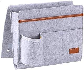 Boîte de Rangement Pliable de,Sac de rangement en feutre pour tablette de chevet gris