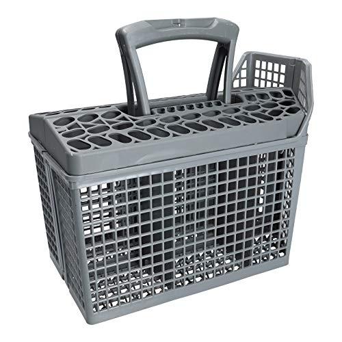 LUTH Premium Profi Parts - Cesta de cubiertos para lavavajillas 260x135mm | Compatible con AEG 111840170/0