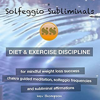 Diet & Exercise Discipline, for Mindful Weight Loss Success audiobook cover art