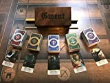 The Witcher Gwent Card Collectible Full Set 5 Decks Total 460 Cards with Box for Witcher Lover!!