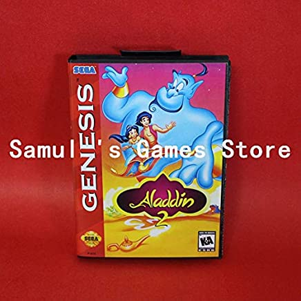 330dd7946a9 Value-Smart-Toys - Aladdin 2 Genesis Red Boxed Version 16bit MD Game Card