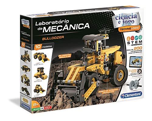 Clementoni 67656 - Laboratório de Mecânica - Bulldozer [Versión Portuguesa]